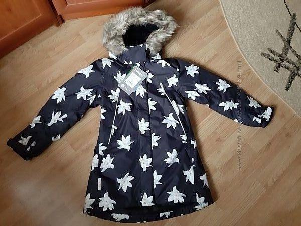 Зимняя удлиненная куртка Reima tec рейма Muhvi 140 р