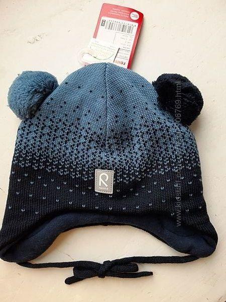 Зимняя шерстяная шапка reima sammal 52 р.