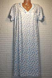Ночная, ночная рубашка, сорочка, нічнушка, ночнушка, нічна, хлопок 62,64,66