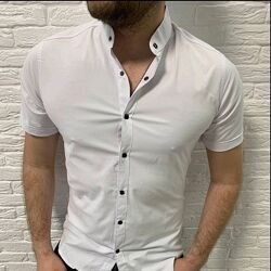 Рубашка тениска подросток белая