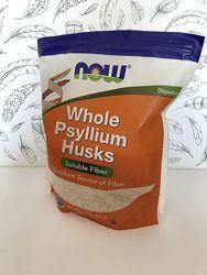 Now Foods, Цельная оболочка семян подорожника, псиллиум 454 г