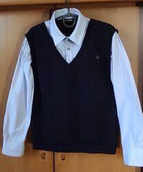 Рубашка-жилет обманка