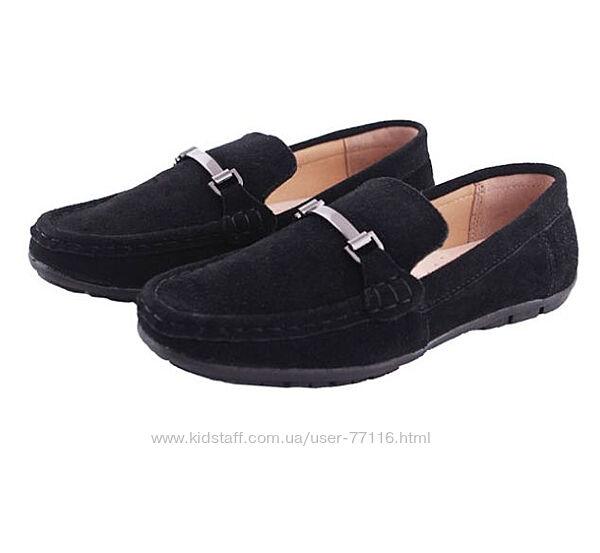 Мокасины туфли замшевые