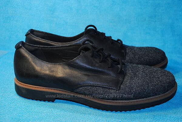 clarks кожа туфли  39  размер