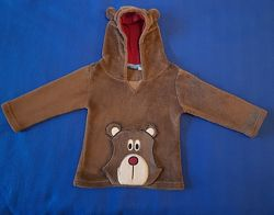 Детское худи-кенгуру Медвежонок