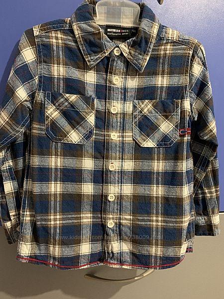 Рубашка на мальчика, рост 104