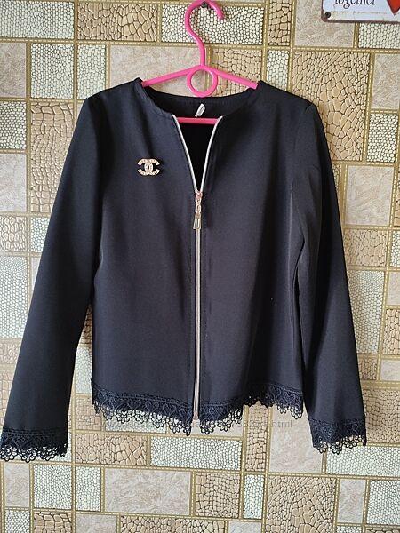 Школьный пиджак на 8-9лет кардиган