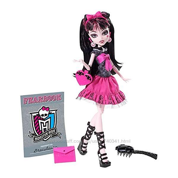 Кукла Монстер Хай Дракулаура День фотографии Monster High Picture Day Drac