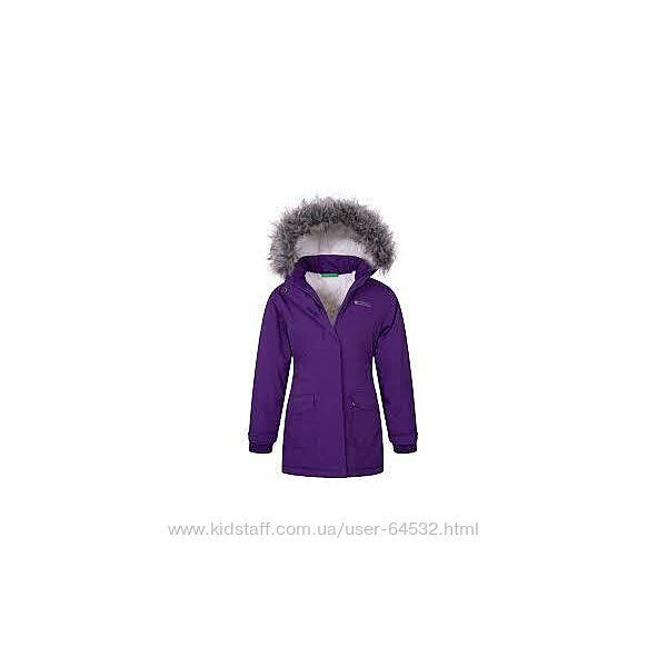 Курточка зимняя, демисезонная, удлиненная детская, подростковая Mountain