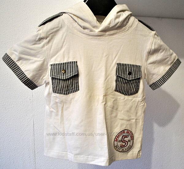 Шикарная футболка тм MONE р. 116 6-7 лет Указаны замеры