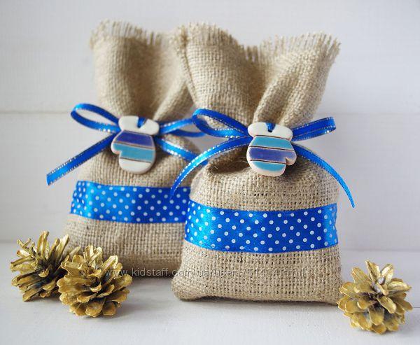Подарочная упаковка - стильные мешочки 2