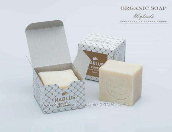 Органическое оливковое мыло для детей Nablus. Палестина
