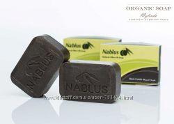 Органическое оливковое мыло Nablus с ароматами масел и трав. Палестина