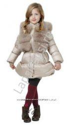 Пуховик SnowImage для девочек 110-134см. Есть в наличии