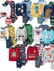 Коттоновые пижамки Carters для мальчиков 18 мес-12 лет