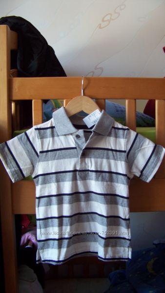 Футболка-поло на мальчика 3-4 года. ТМ Чилдренплейс