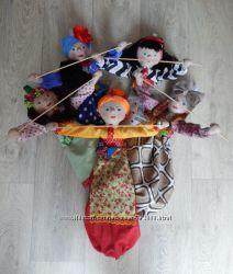 Кукла-пакетница хранительница кухонных полотенец