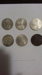 Монеты и купюры СССР, России и Украины 90х