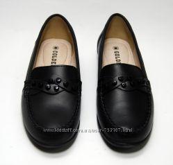 Туфли закрытые, мокасины женские нат. кожа Golderr р. 36, 37, 38, 39, 40