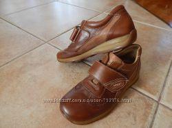 Кожаные туфли для мальчика Tirenti, разм. 34