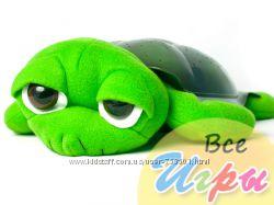 Ночник проектор черепашка зеленая  бонус