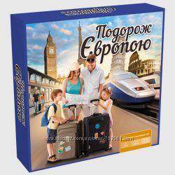 Настольные игры Путешествие по Европе  Украине