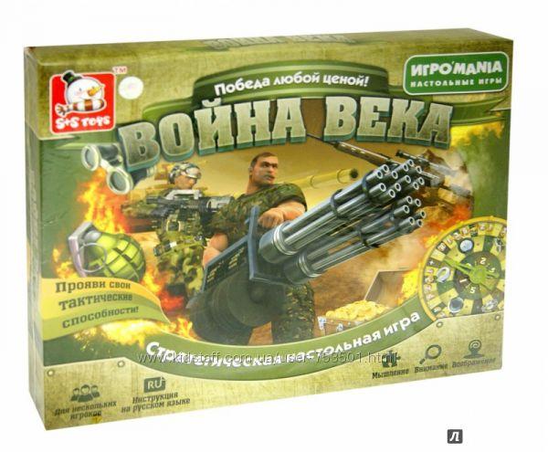 Обучающие и развлекательные настольные игры SS Toys