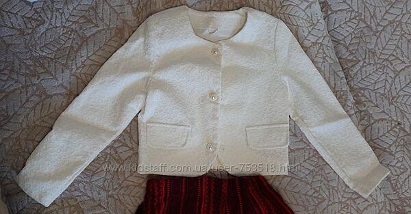 Пиджак нарядный р.134