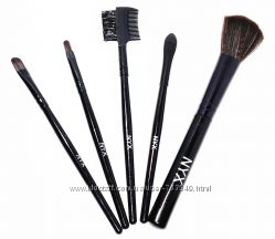 кисти для макияжа NYX 5 штук