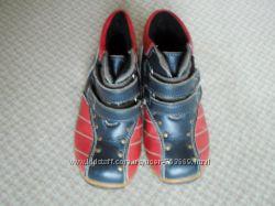 Кожаные детские ботиночки