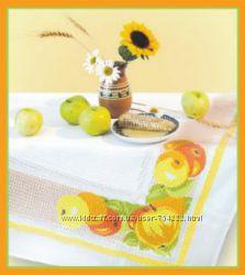 Набор для вышивания скатерти яблоки
