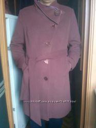 Новое демисезонное пальто р. 54