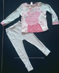 Пижамка с Пеппой на 2-3 года