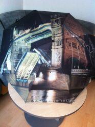 Зонт три слона с фонариком. Коллекция Города