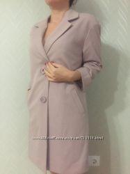 Эксклюзивный женский треч-пальто прямого кроя размер S-M