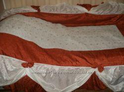 Красивое большое покрывало на двухспальную кровать