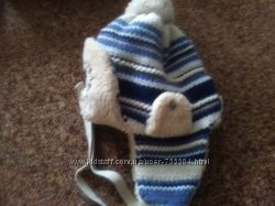 Тёплая классная польская зимняя шапка в отличном состоянии