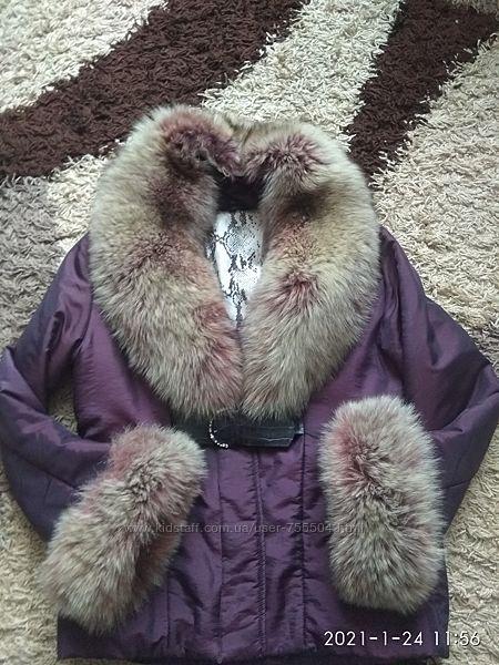Куртка со съемным мехом