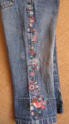 Фірмові джинси з вишивкою