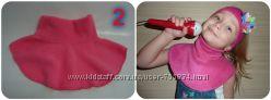 Заказ от 1 шт. Манишки флисовые - альтернатива шарфам