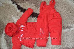 комбинезон раздельный курточка штанишкидля девочки 6 месяцев до 1, 8года