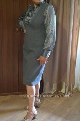 Стильный комплект костюм для деловой женщины р. 50-52 наш Распродажа