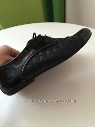 В отличном состоянии туфельки кожаные
