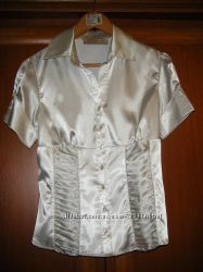 Блуза атласная р-р. М не секонд