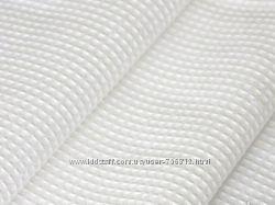 Вафельное полотно отбеленное Ш 45 см. 125 плотность в рулонах