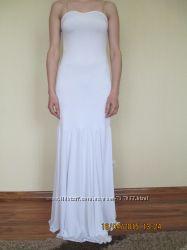 Красивое простое свадебное платье