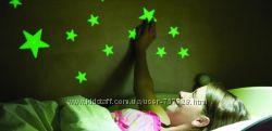Светящиеся звезды и фигурки на потолок, стены