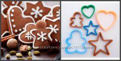 Формочки для печенья 10 шт и 6 шт