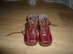Шкіряні зимові черевички на ножку 15, 5см