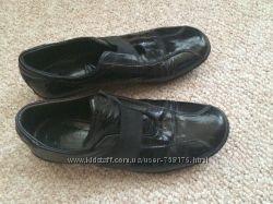 Женские демисезонные стильные закрытые туфли 37-38р24см стелька